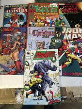 Christmas Comics as Christmas Cards 14 issue set Spider-man Black Cat Iron Man