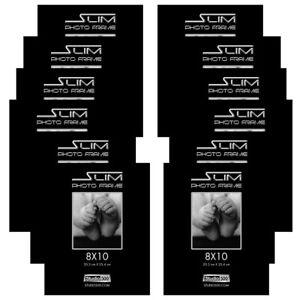 Studio 500 8x10-inch The Original Slim Photo Frames, 100% Tempered Glass 12-pack