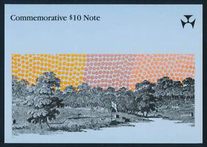 """Australia: 1988 $10 Bicentennial Polymer """"PREFIX AA"""" NPA Folder. UNC Cat $50"""