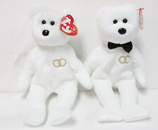 "Ty-Beanie Baby - ""Mrs"" & ""Mr"" - The Wedding Couple Set - Brand New w/Mint Tags"