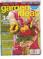 COUNTRY GARDENS & GARDEN IDEAS & OUTDOOR LIVING  SUMMER MAY, 2014 ( 2 GREAT MAG
