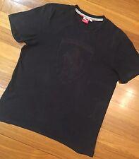 Authentic Mens FERRARI T-Shirt Sz XL ~ Stylish Black Top