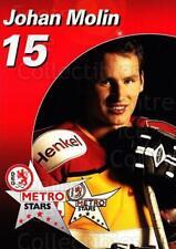 2003-04 German DEG Metro Stars Postcards #15 Johan Molin