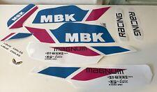 kit autocollants mbk 51  Magnum racing ceramic white ph2