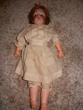 "Antique German Kestner 196 Bisque Fur Brow Doll 18"" Stamped German Body"