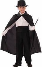 Black Magicians Cape Child Houdini Wizard Vampire Harry Potter