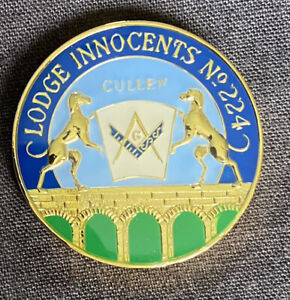 scottish masonic tokens Lodge Innocents 224