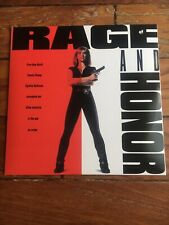 Laserdisc Rage And Honor Martial Arts Karate Movie Cynthia Rothrock 1992
