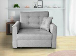 Sofa Cocori Lux I Ausziehbares Sessel  Bettkasten und Schlaffunktion M24