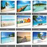 Tropical Caribean Beach Ocean Paradise Island Photo Canvas Wall Landscape RMC