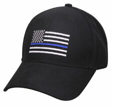 Police Thin Blue Line Flag Cap Low Profile Hat Baseball Support Law  Enforcement 42cdfe1c46d5