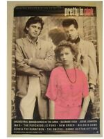 Pretty In Pink Poster Molly Ringwald Movie Old