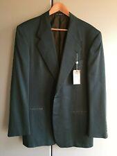 Valentino. Valentino Couture. Silk / wool blazer. Dark green. Size 40 long.