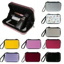 Mini Luggage Make up Case Zipper Gift Barrel shaped Handbag Prevent Smash Pouch