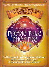 Shelley Duvall's Faerie Tale Theatre ORIGINAL 4 DVD Complete Set Fairy Theater