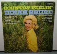DINAH SHORE COUNTRY FEELIN' (VG+) DL-75094 LP VINYL RECORD