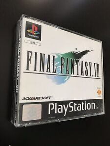 Final Fantasy VII [PS1] (PAL) Completo: 3 CD + Manuale + Box Black Label