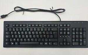 HP Katydid 697737-181 BEL USB Wired Keyboard Belgium AZERTY Layout