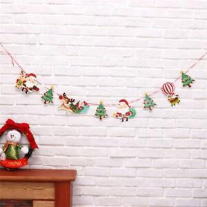 Xmas Hanging Flag Banner Christmas Partij Vlag Party Buntingdecor Party Decor C