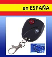 MANDO UNIVERSAL 2 botones GARAJE puerta 315 / 433mhz codigo control remoto coche