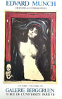 FRANCE EXHIBITION POSTER 1983 - EDVARD MUNCH - MADONNA * ART PRINT