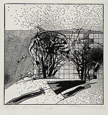 Steffen volmer-árboles-aguafuerte 1982