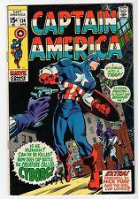 Marvel CAPTAIN AMERICA #124 - VG Apr 1970 Vintage Comic