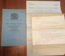 "Vintage HMSO Booklet ""The Student Pilot's & Private Pilot's Licences"" 1959 Edn"