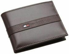 Tommy Hilfiger Men's Ranger Leather Billfold Wallet - Brown