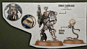 Warhammer 40k Ennox Sorrlock - Deathwatch Iron Hands w/Combi-Melta & Servo Skull