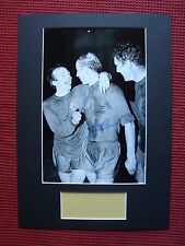 MANCHESTER UNITED BOBBY CHARLTON PERSONALLY SIGNED A3 MOUNTED PHOTO DISPLAY- COA