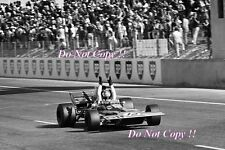 Francois Cevert Elf Tyrell 002 French Grand Prix 1971 Photograph 5