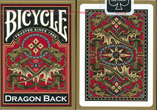 1 Deck Bicycle Dragon Back Gold Standard Poker Playing Cards Brand New Deck
