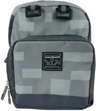 "Jinx ""MINECRAFT"" Creeper MINI BLOCK BACKPACK - NEW Gray"