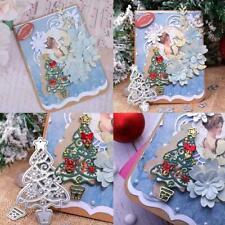 Christmas Tree Shape Metal Cutting Dies Stencil Album Card Paper DIY B9J4