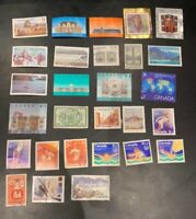 Used Canada Stamp Collection >500 issues from 5c era to 50c. CV>$150