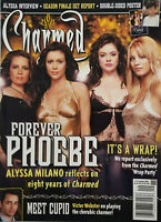 Charmed Magazine 2006 #12 Forever Phoebe - Victor Webster + Poster No Label NM