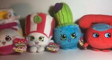 "Shopkins Plush Lot New With Tags Sneaky Wedge Chatter (6.5"" Stuffed Play Soft)"