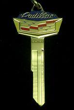 CADILLAC *WIDE* Gold CREST KEY BLANK 1935-1966 ElDorado DeVille Series 60 62 +