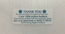 Thank You for your PURCHASE stickers 30PCS Design#11 - FREE US Shipping