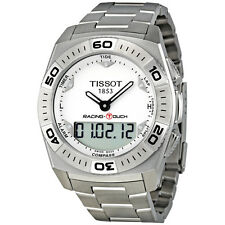 TISSOT RACING-TOUCH CHRONOGRAPH DATE ST.STEEL MEN'S WATCH T002.520.11.031.00 NEW