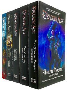 Dragon Age Series David Gaider Collection 5 Books Set Inc Asunder, Stolen Throne
