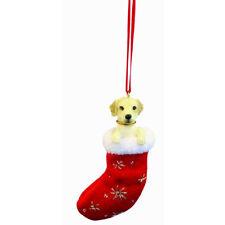 Yellow Labrador Retriever Santa's Little Pals Ornament