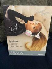 Brookstone 320538 Limited Edition Ariana Grande Wireless Bluetooth Headphones -…