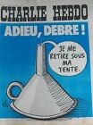 CHARLIE HEBDO No 125 AVRIL 1973 GéBé ADIEU DEBRE !