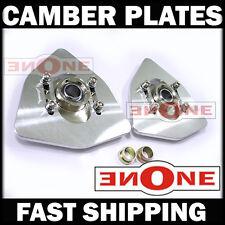 MK1 Universal Fit Triangle Camber Plate Strut Mount Lancer Evo 5 6 7 8 9 10