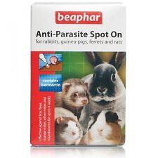 Beaphar Anti Parasite Spot On Ferret Rabbit Guinea Pig Rat 35g