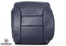 95-99 GMC Suburban C/K 1500 2500 -Driver Side Lean Back Leather Seat Cover Blue