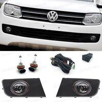 1Set 55W Fog lights Driving Lamp Cover Switch for 2011-2015 Volkswagen Amarok