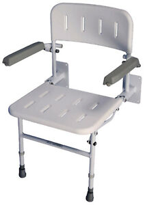 Aidapt Solo Deluxe Shower Seat VB539 - NEW see condition